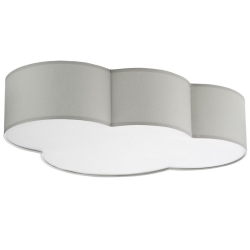 Plafon CLOUD szary 3xE27 TK LIGHTING